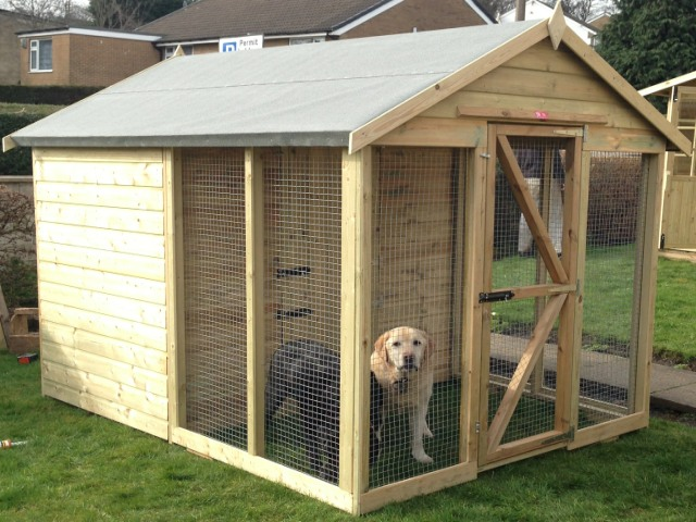 Haydock Garden Buildings Pet Sheds Dog Kennels Pet Runs