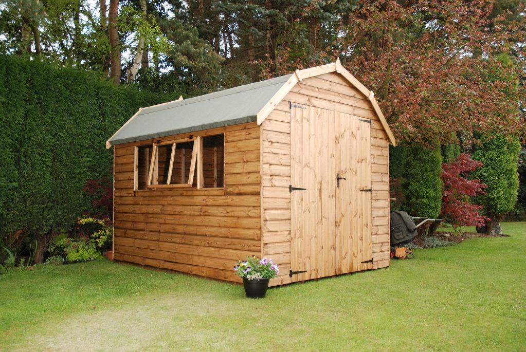 click for more details - Garden Sheds Haydock