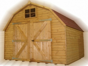 Timber Dutch Barn Sheds