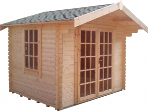 Timber Lotherton Log Cabin