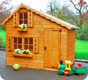Timber Lumberjack Cabin Play Dens