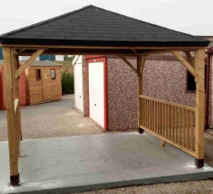 Timber Metropolitan Gazebo Gazebos