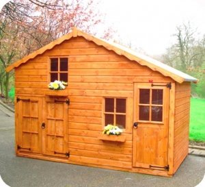 Timber Orchard Cottage Play Dens