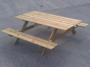 Timber Picnic Table Arbours