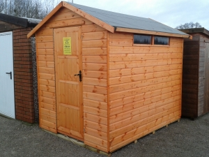 Timber Western Security Sheds