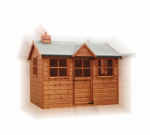 Timber Snowdrop Cottage Play Dens