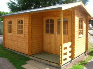 Timber Chambery Log Cabin