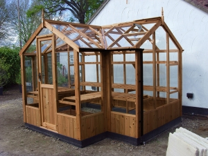 Timber Cygnet Greenhouses