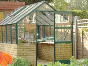 Aluminium Featured Dwarf Wall  Greenhouses