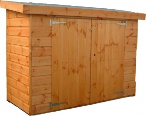 Timber Glory Box-High Sheds