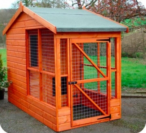 Timber Half Rovers Dog Kennels and Runs