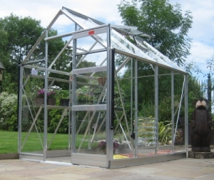 Aluminium High Eave Greenhouses