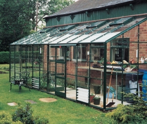 Aluminium Kensington Lean-To Greenhouses