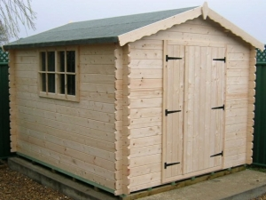 Timber Norseman Apex Log Cabin