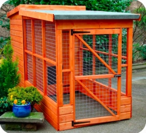 Timber Pippas Pent Dog Kennels and Runs