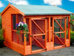 Timber Rovers Return Dog Kennels and Runs
