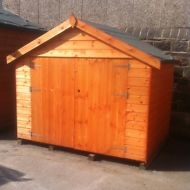 Timber Space Saver Sheds