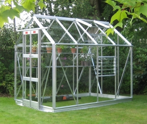 Aluminium Streamline Greenhouses