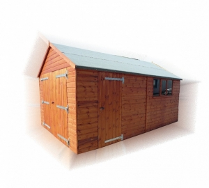 Timber Timber Garage Workshop