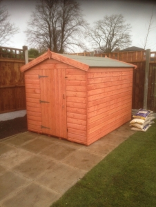 Timber Tool Shed Sheds