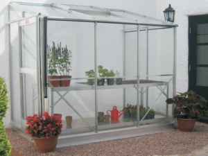 Aluminium Windsor Lean-To Greenhouses