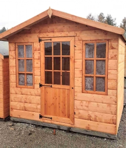 Timber Western Cabin Special Sheds