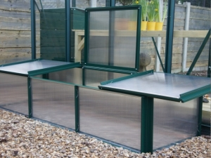 Aluminium iGrow Cold Frame Greenhouses
